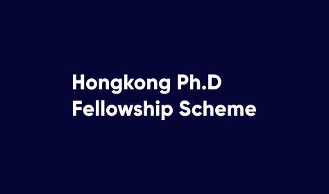 Info Hongkong Ph.D Fellowship Scheme