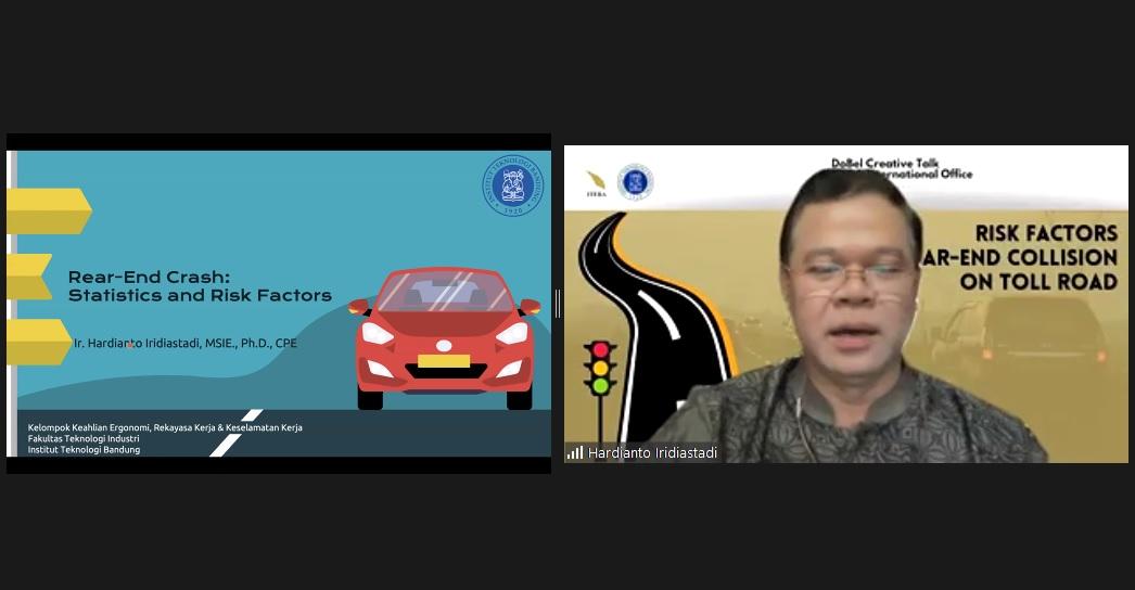 DoBel Creative Talk : Risk Factors for Rear Collision on Toll Roads