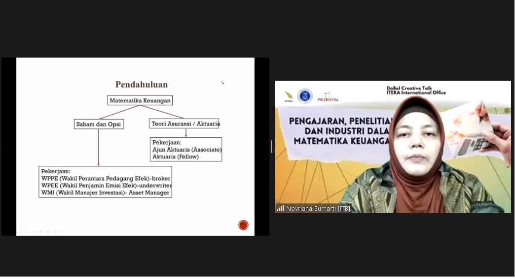 """DoBel Creative Talk : """"Teaching, Research, and Industry in Financial Mathematics"""""""